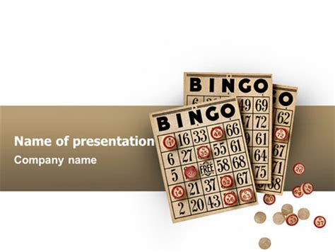 bingo card template powerpoint bingo presentation template for powerpoint and keynote