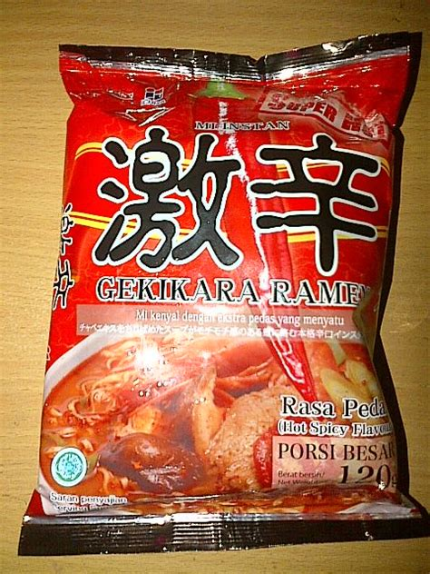Nissin Mie Gekikara Ramen sasa daily stories recipe ikan kuah santan thailand