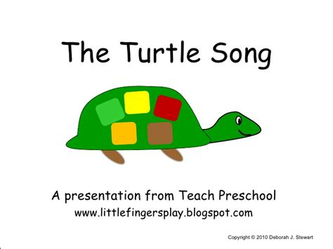 turtle in the bathtub song the turtle song