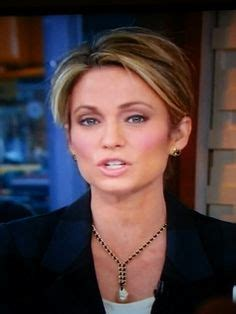 amy robach gets her hair cut short in front of the cameras amy robach