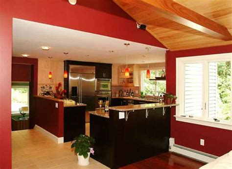 red wall kitchen ideas best ideas for finding the best kitchen wall colors home