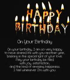 12 happy birthday love poems for her amp him with images