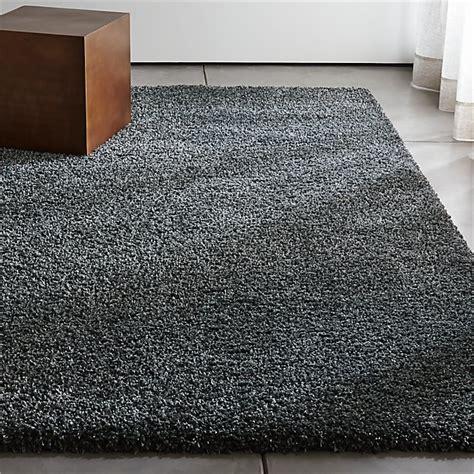 grey shag rug crate and barrel