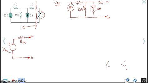 exle thevenin equivalent circuit youtube
