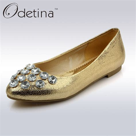 rhinestone flat shoes get cheap silver rhinestone flats aliexpress