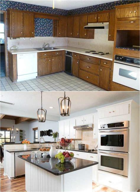 r駭 une cuisine en bois renover sa cuisine en chene excellent amazing re