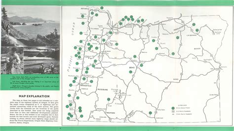 state parks in map oregon state parks map smeka
