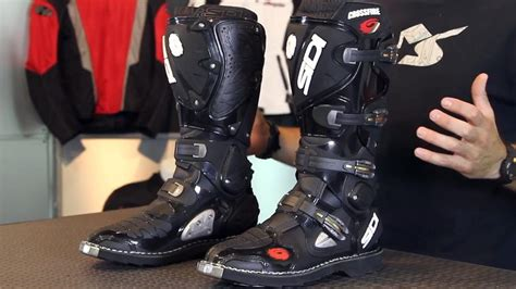 sidi motocross boots review sidi crossfire boots from motorcycle superstore com youtube