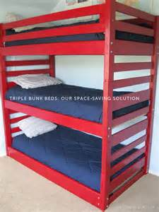 Three Bed Bunk Bed Toddler Children S Bunk Beds Innovative Beds For