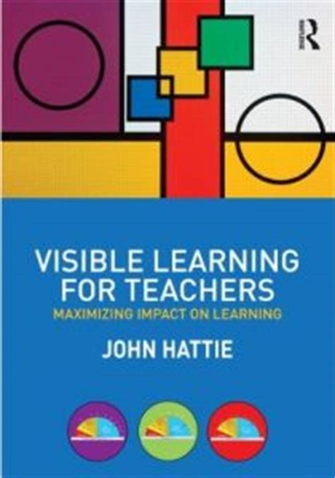 John Hattie On Pinterest Visible Learning Education And