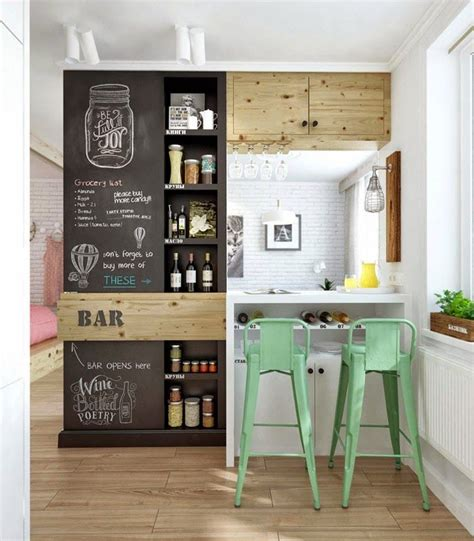 Red Kitchen Lights - 15 cool young couples apartment design ideas