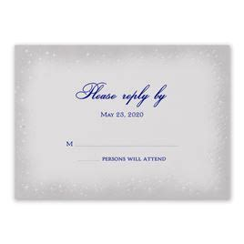 Magic Roaster Fast Respon wedding response cards invitations by