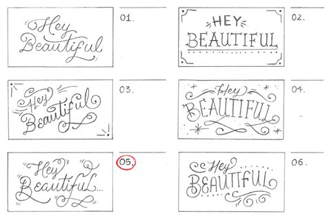 lettering sketch tutorial hand lettering guide creating a hand lettered print from