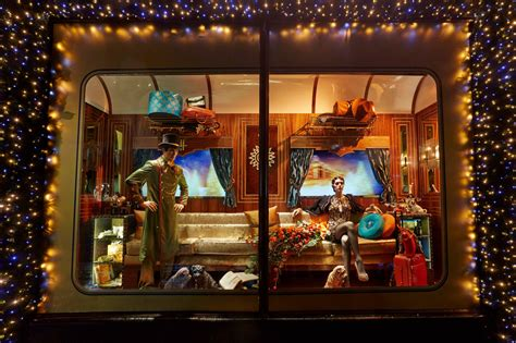 Images Of Christmas Windows | quot the harrods express quot christmas window display 2013 best