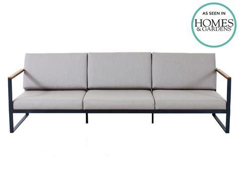 3 seater outdoor sofa r 246 shults garden easy outdoor three seater sofa by broberg