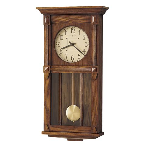 howard miller dual chime clock howard miller ashbee ii dual chime wall clock 620185