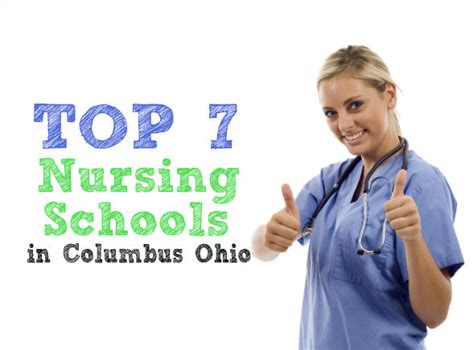 colleges that offer nursing nurses choice the 7 best nursing schools in columbus