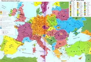 Map Of Europe 1850 by Serbs Bosnia And National Identity