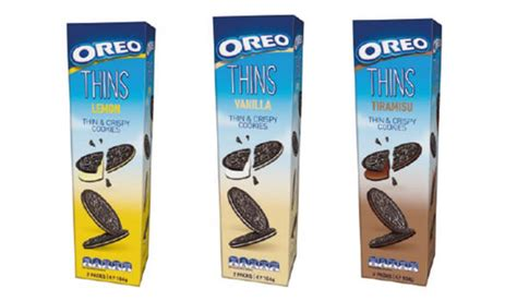Oreo Thins Tiramisu New Zeland oreo introduces oreo thins convenience impulse retailing