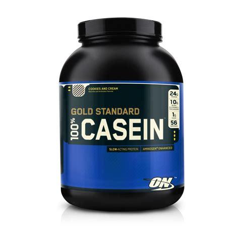 L Hi Protein Casein Optimum Nutrition 100 Gold Standard Casein Protein 1 8kg