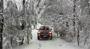 Toyota Winter Winter Snow Test 2016 Toyota Tacoma Trd Road
