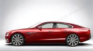 Bentley 4 Door Coupe Rendering Bentley Four Door Coupe