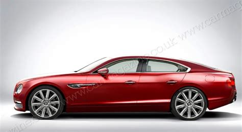 bentley coupe 4 door rendering bentley four door coupe