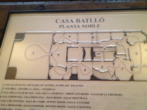 casa batllo floor plan floor plan of casa batll 243 antoni gaud 237 pinterest