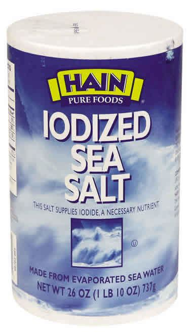 is table salt iodized does sea salt have potassium things you didn t know