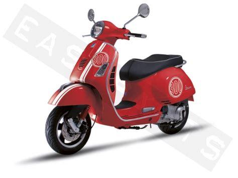 Aufkleber Vespa Roller by Stickers Vespa Gts 300 Sup Wit Rood Piaggio Gilera