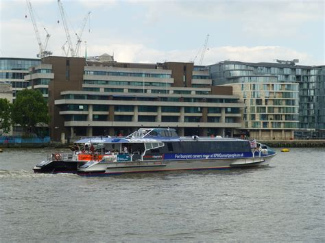 thames clipper driver london transport with a wheelchair kidrated special needs