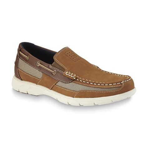 boat shoes online shopping thom mcan men s starboard leather boat shoe tan shop
