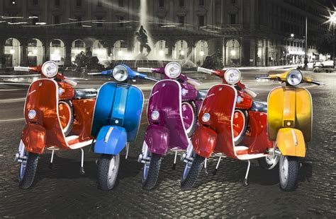 imagenes vespa retro retro vespa advertising quality canvas print art poster