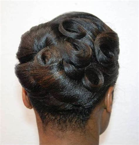 Black Hairstyles Pin Ups by 50 Updo Hairstyles For Black Ranging From To