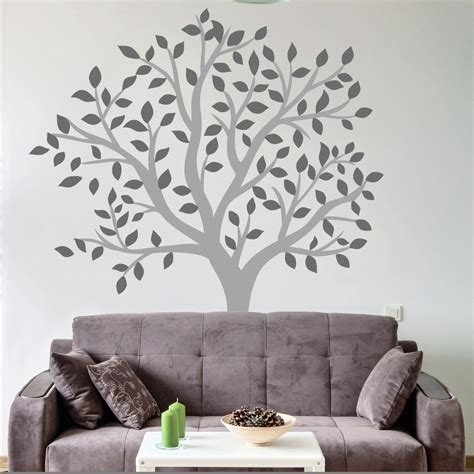 oversized wall stickers 28 large wall tree decal forest birch tree forest