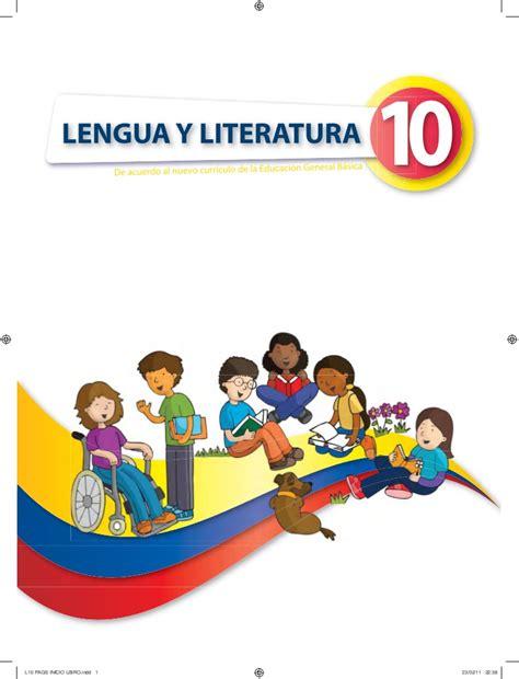 libro la lengua de los lengua 10 1