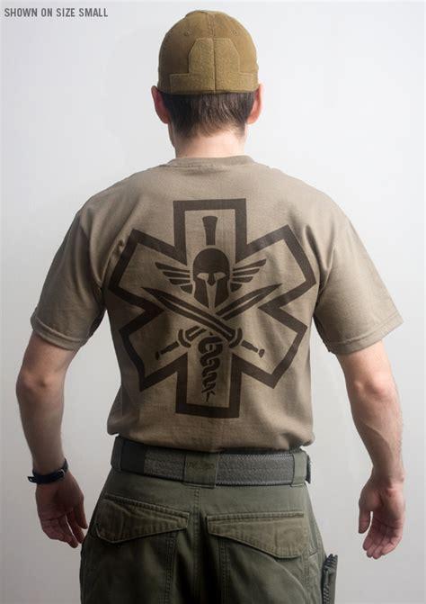 T Shirt Tactical Pratama Spartan tac med spartan t shirt mil spec monkey store