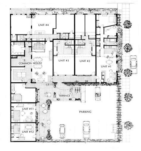 cohousing floor plans doyle st cohousing site plan cohousing communities