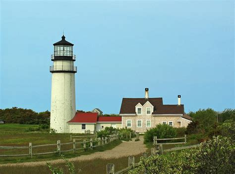 cape cod light houses cape cod highland lighthouse photograph by juergen roth