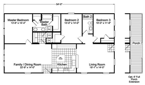 tara floor plan the tara dd30543a manufactured home floor plan or modular