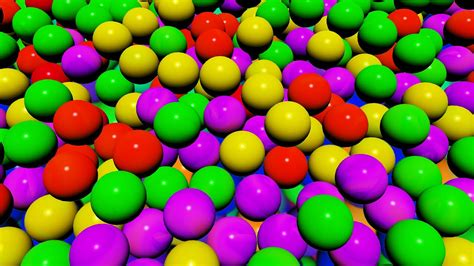 color balls the pit show for learning colors children s