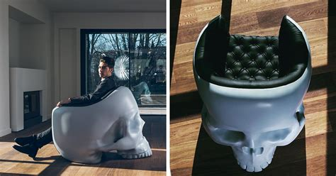 Villain Chair by Skull Armchair To Satisfy Your Inner Villain Bored Panda
