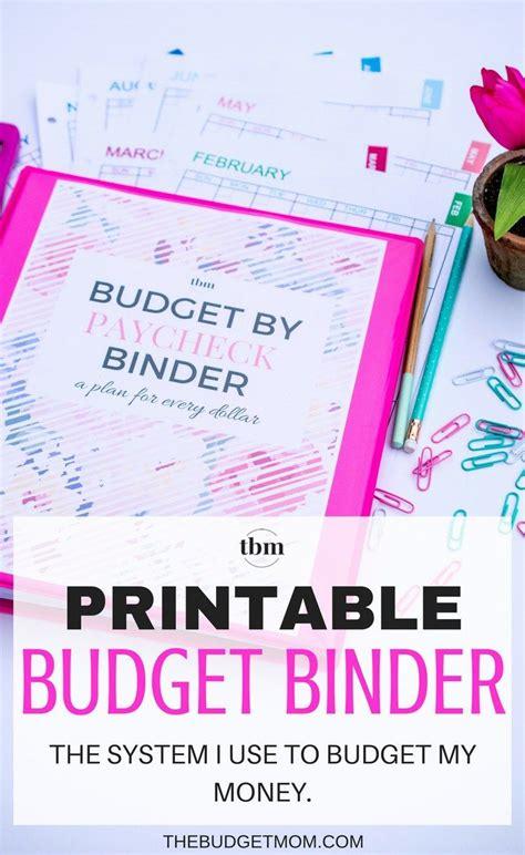 Budget Binder Printables 2017 Free