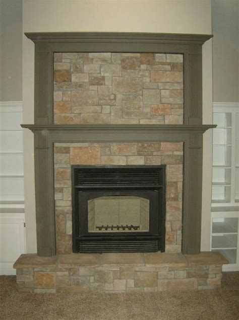 Alpine Gas Fireplace by Surround With Mantel And Overmantel With From