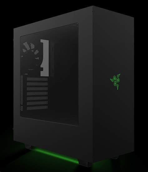 Custom Home Design Software Reviews by Razer Announces Custom Designed Nzxt S340 Pc Case