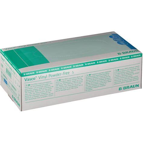 vasco r medikament vasco vinyl handschuhe puderfrei gr m 100 st