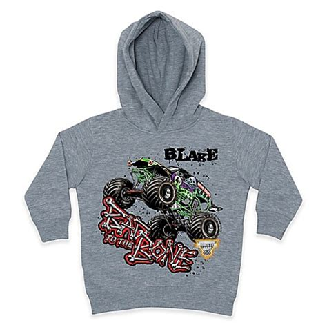 trucks grave digger bad to the bone jam 174 grave digger 174 quot bad to the bone quot pullover