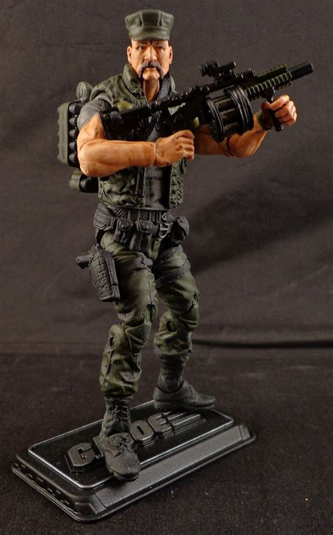 figure gi joe stronox custom figures gi joe gung ho