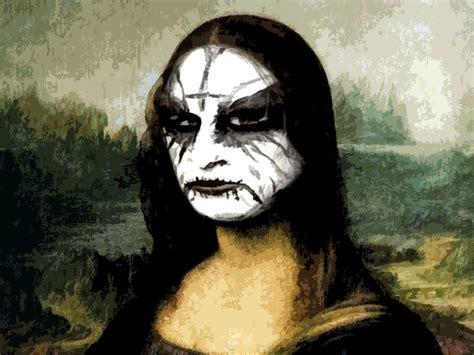 Monalisa Black black metal mona by mrangrydog on deviantart