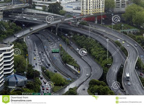 s day events in hton roads aerial view of traffic on auckland inner city road